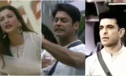 Bigg Boss 14: Sidharth Shukla gets into a war of words with Eijaz Khan and Gauahar Khan
