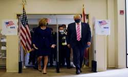 US Election 2020: Donald Trump votes in Florida before hitting campaign rallies