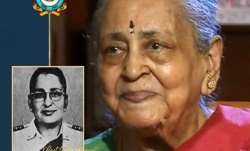 Vijayalakshmi Ramanan, IAF's first woman commissioned officer has died