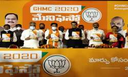 GHMC polls: BJP releases manifesto, promises free electricity, water