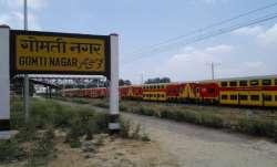 Lucknow, Gomti Nagar Railway Station, Gomti Nagar redevelopment