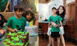 Ira Khan gives sneak peek into 'coolest baby brother' Azad Khan's 9th birthday celebrations