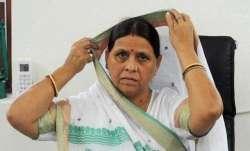 RJD leader and former Bihar Chief Minister Rabri Devi