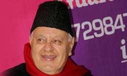 Farooq Abdullah funny remark, Farooq Abdullah, Farooq Abdullah says cant even kiss my wife, Farooq A