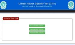 CTET Admit Card 2021 released. Direct link to download