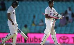 Hanuma Vihari and Ravichandran Ashwin