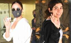 Bollywood celebrities stepped out in the city looking their