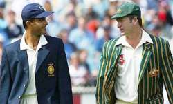 Sourav Ganguly Steve Waugh