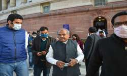 Union Agriculture Minister Narendra Singh Tomar at