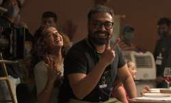 Anurag Kashyap resumes DoBaaraa shoot with Taapsee Pannu