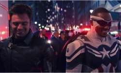 A still from The Falcon and The Winter Soldier