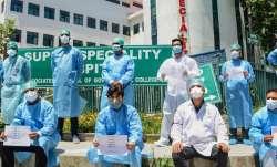 nagpur doctors protest
