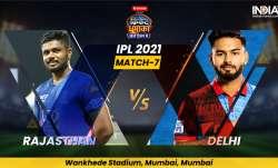 Live Cricket Score, IPL 2021, Match 7, RR vs DC: Follow Live score and updates from Mumbai