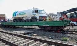 INOXAP's Cryogenic LMO Tanker onboard the DBKM wagon to