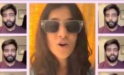 Jasleen Royal collabs with Yashraj Mukhate for fun acapella version of Rangeela; see viral video