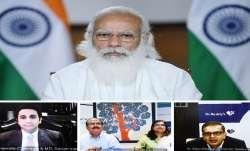 pm modi meeting with vaccine manufacturers, pm modi latest news, Serum Institute of India, Bharat Bi