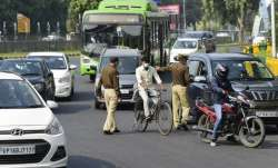 Noida face mask penalty