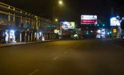 Connaught Place wears a deserted look during COVID-induced