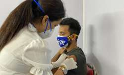 India's Test vice-captain Ajinkya Rahane received the first dose of COVID-19 vaccine on Saturday.