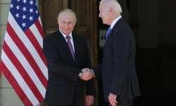 Russian President Vladimir Putin, left, and U.S President