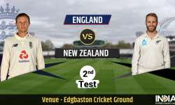 Live scores of England vs New Zealand 2nd Test Day 1: Follow live updates from ENG vs NZ 2nd Test Da
