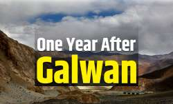 one year to galwan clash