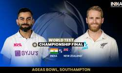 Live Cricket Score, India vs New Zealand WTC Final, Day 1: Live updates from Southampton