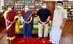DMK chief, MK Stalin, meeting, Sonia Gandhi, Rahul Gandhi, political latest news, tamil nadu politic