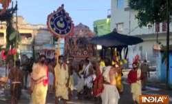 Chandana Yatra or Sandalwood Voyage in Sanskrit continues