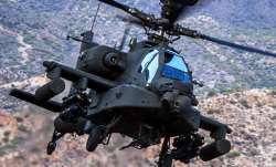 Apache combat helicopter