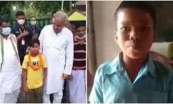 'Bachpan Ka Pyaar' boy Sahdev Dirdo meets Chhattisgarh CM Bhupesh Baghel