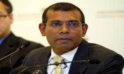 Maldives ex prez