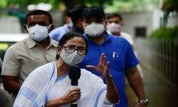 West Bengal Chief Minister Mamata Banerjee addresses media