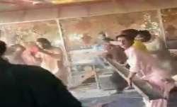 Mob attacks temple in Pakistan's Punjab, damages idols