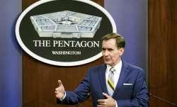 pentagon statement on taliban
