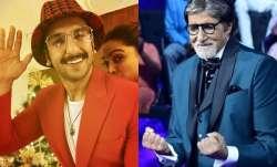 Ranveer Singh, Amitabh Bachchan