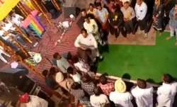 """Watch: Punjab Congress MLA thrashes youth who asks, """"what work have you gone?"""""""