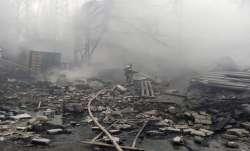 seventeen killed, fire, Russia, Russian industrial explosives factory, latest international news upd