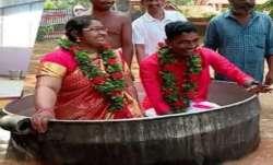 Monsoon Wedding! Bride, groom in Kerala reach flooded hall