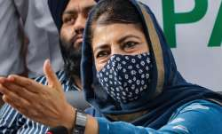 People Democratic Party (PDP) President Mehbooba Mufti