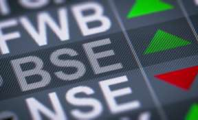 While BSE Sensex climbed as much as 358 points to