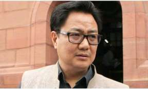 Apart from Rs 1 crore from MPLAD funds, Rijiju donates one month salary to fight against coronavirus