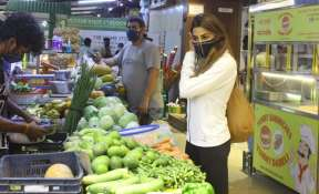 Nikki Tamboli goes grocery shopping