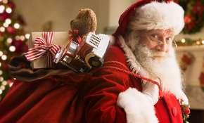 santa, christmas, gifts
