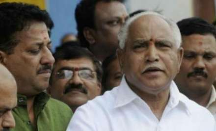 Former Chief Minister and BJP leader BS Yeddyurappa on