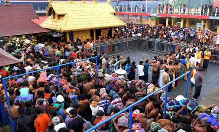File photo of Sabrimala temple
