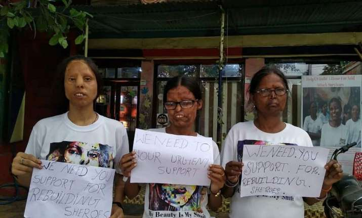 Acid attack survivors seeks PM's intervention after Agra