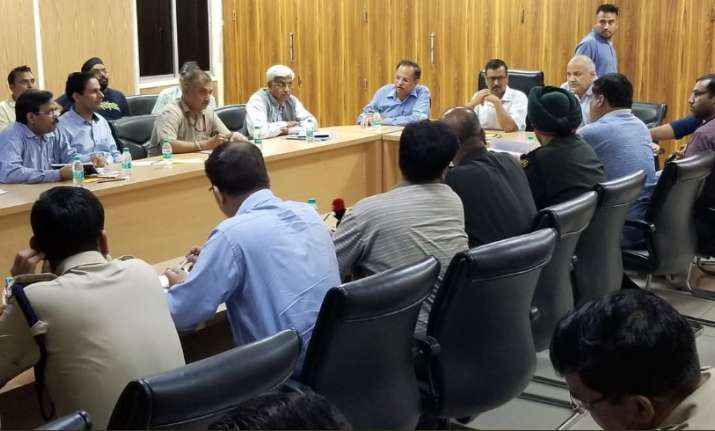 Delhi CM Arvind Kejriwal chaired emergency meeting with all