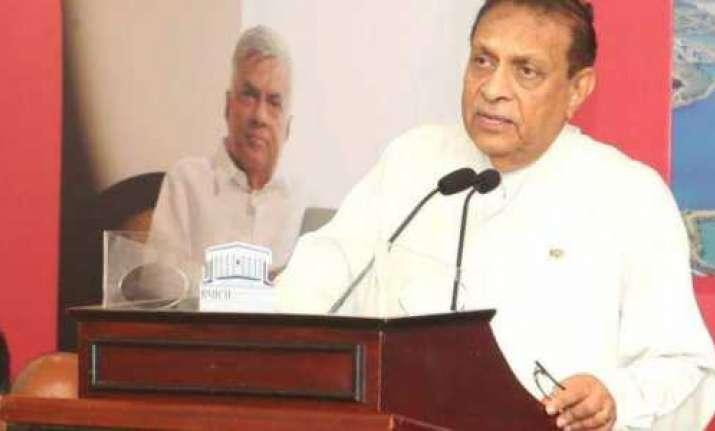 File photo of Sri Lankan Speaker Karu Jayasuriya