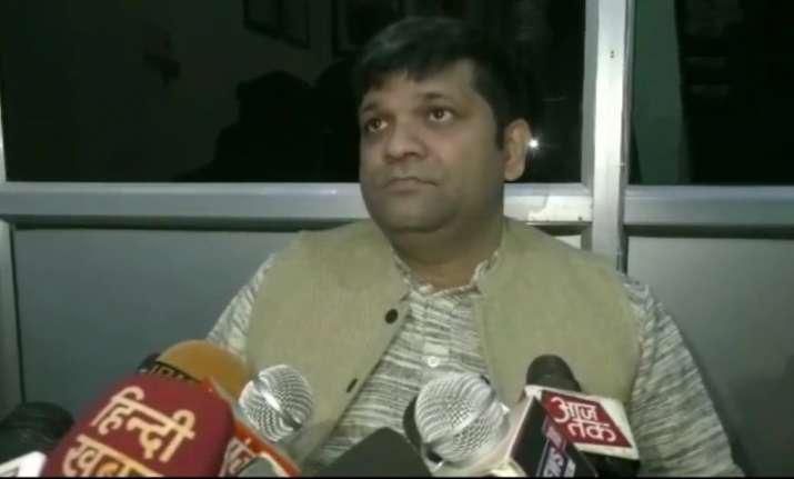 Ashish Patel, national president of Apna Dal(S) party, on